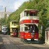 Special event day at Crich Tramway Village
