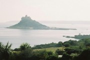 St. Michael's Mount: view from a pub