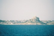 St. Michael's Mount: view from at sea