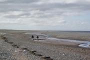 Shingle beach at Mawbray