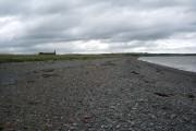 Shingle beach at Allonby