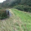 The Path across the old pack horse bridge, Latheronwheel harbour