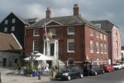 Poole: Custom House against dark sky