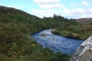 The River Borgie from Borgie Bridge
