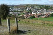 Overlooking Caeracca from the Dowlais Top Reservoir