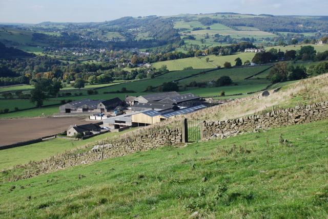 Gorse Bank Farm near Baslow