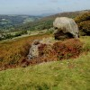 Rock feature on Baslow Edge
