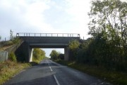 Colliery Bridge - View in the direction of Sutton Scarsdale
