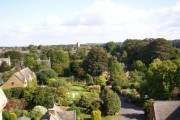 Hook Norton village from the brewery