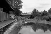 Ash Vale Railway Bridge, Basingstoke Canal