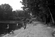 Mytchett Lake Railway Bridge, Basingstoke Canal