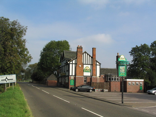 The Gate Hangs Well, Fosse Way, Syston