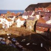Staithes harbour from Cowbar