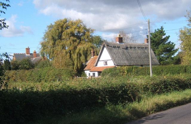 Cottage near B1118 corner, Brundish