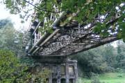 Rail bridge over the Tawe