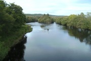 The River Spey at  Boat of Garten