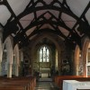 Dudleston Church - interior