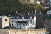 Gardenstown from the Harbour