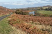 Strathnaver: road and river head for the coast