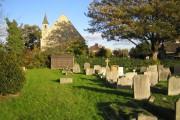 Aldborough Hatch: St Peter's Church and churchyard