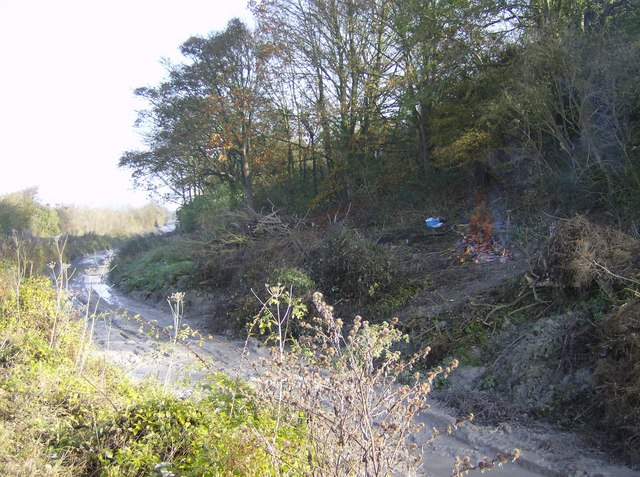 Clearance work on the Wendover Arm