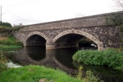 Donaghacloney Bridge over River Lagan
