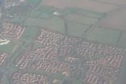 Milton Keynes: suburbs from the air