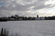 Stradbroke in the snow
