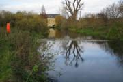 River Ivel in Langford