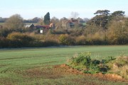 Looking to Badley Hall Farm