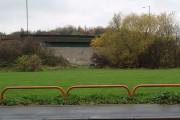 Bricked-up bridge
