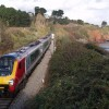 Train at Hollicombe