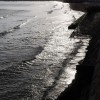 Waves off Preston seafront