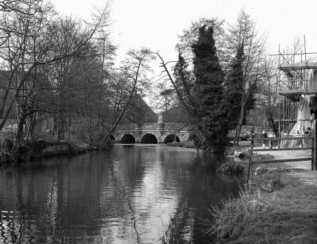 Godalming Town Bridge, River Wey, Surrey