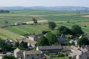 Litton - east end of village from Litton Edge