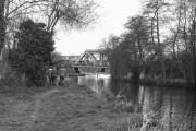 Railway bridge, Shalford, River Wey, Surrey