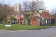 Village scene, Gazeley