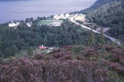 Loch Ness from the Farigaig Forest
