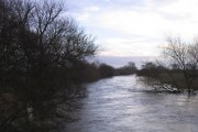 The River Dove in full flow