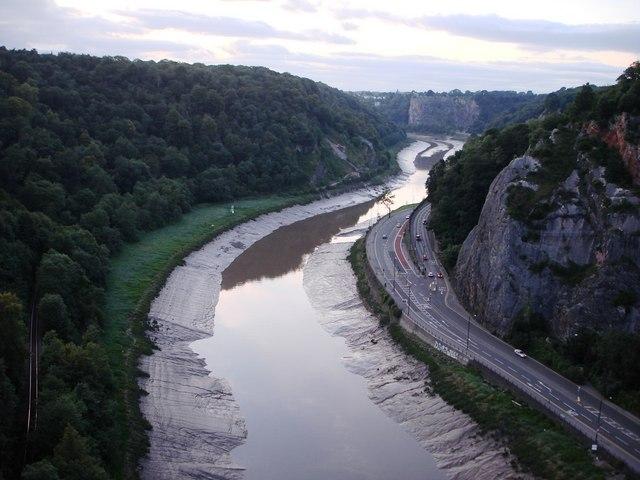 River Avon from Clifton Suspension Bridge