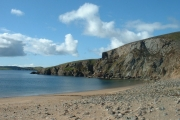 Muckle Ayre Beach, Muckle Roe, Shetland