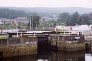 Crinan Canal Sea lock at Ardrishaig