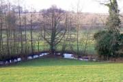 River Churn near Perrott's Brook
