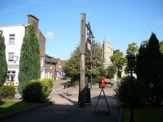 Tring Church tower