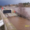Perth, River Tay running high