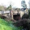 Bridge over the dismantled Gloucester to Ledbury Railway