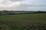 Farmland east of Eastwell