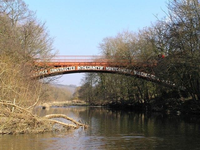 Abermule in Powys