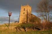 All Saints' church & beacon