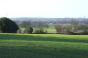 Landscape north-west of Shareshill, Staffordshire